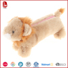 2015 high quality and lovely wholesale animal shape plush pencil case