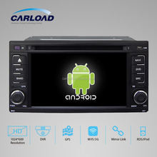 6.2in Special touch screen android 4.4 2 din car dvd player for subaru foreste with GPS,iPOD,TV, Wifi, 3G, mirror link functions