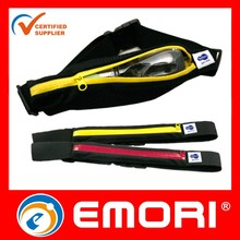 superior water resistant Running Belts / Runners Belt / waist belt bag with 4CM high elastics