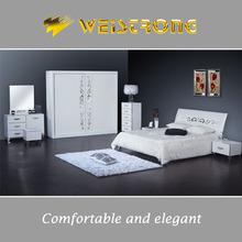 Weistrong unique design wooden bedroom furniture bedroom