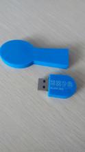 Customized PVC usb flash drive spoon shape usb memory flash scoop usb stick
