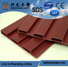Hot Sale Interior WPC Wall Panel 204*16mm WPC Wall Cladding PVC Panel For Wall