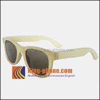 folding sunglasses for girls/boys latest fashion bamboo frame Sunglasses