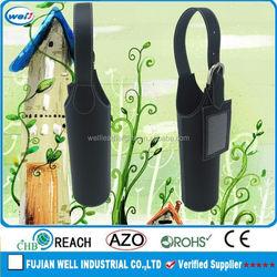 Eco-friendly PU leather 6 bottle wine cardboard bottle carrier manufacturer