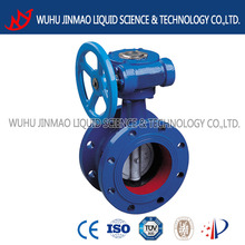 Manual Flange Hard Metal Butterfly Valve