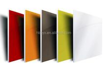Pure yellow color Aluminum composite panel