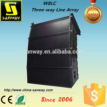 W8LC Guangzhou Professional Empty Line Array Cabinet