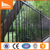 Spear Top Tubular Steel Railings / Cheap wrought iron Tubular Steel Railings