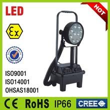 aluminium alloy extendable pole optional explosion proof portable led lighting