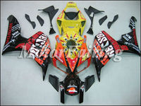 08 09 CBR1000 Fairing for HONDA 2008 CBR1000RR 2009 2010 08 09 10 CBR 1000 RR CBR1000 RR CBR 1000RR black orange yellow red CBR