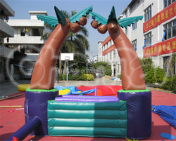 Customized inflatable table