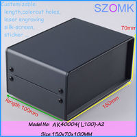 150x70x100 mm diy cabinet iron electrical junction box project box pcb steel enclosure electronic enclosure iron