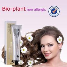 Precio de fábrica bajo amoniaco mejor tinte de cabello natural al por mayor