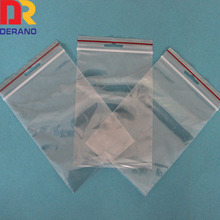 Custom heavy duty LDPE biodegradable resealable plastic bags with zipper