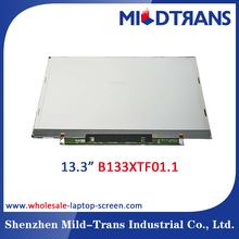 New A grade 13.3'' led laptop screen for B133XTF01.1