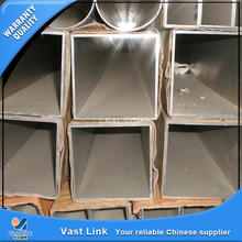 construction material galvanized steel square pipe for shipbuilding