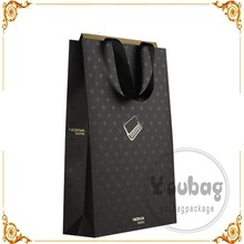 printed recycle paper package bag design