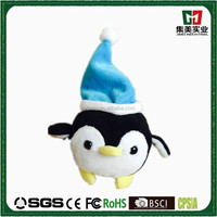 Animals modern cartoon plush stuffy toy christmas pendant plush toy