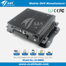 8CH High Performance Mobile Vehicle DVR Camera Surveillance Systems