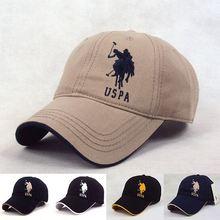 Snapback hats women & men polo baseball cap sports hat summer golf caps outdoor casual cotton sunhat travel touca best quality