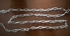 twisted link chain for dog collars and harnesses
