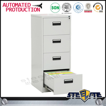 Luoyang office furniture tall thin steel cabinet 4 drawer paper cabinet