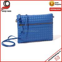 Blue unique shoulder cross body bag tote fashion bag