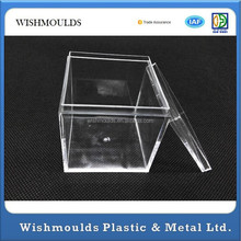 Custom PMMA acrylic jewelry cd computer cosmetic candy display case mould factory