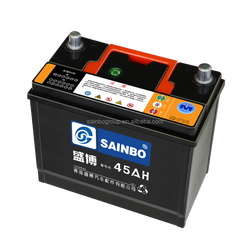 High performance N45 Dry Charged Car Battery