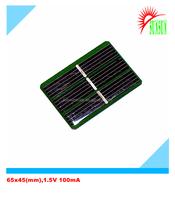 Epoxy 0.15 watt 100mA 1.5 volt solar panel