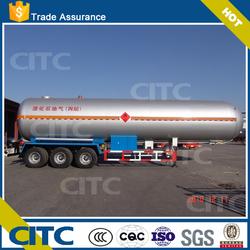 2015 New Brand CITC tri-axle 58.3 cbm liquid propane gas lpg tank semi trailer for sale