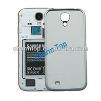 Litchi Leather Battery Case For Samsung i9500 Galaxy S4