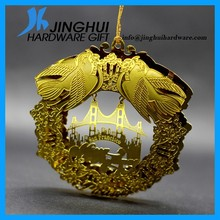 China Manufacturer Handimade 3D Metal Ornaments