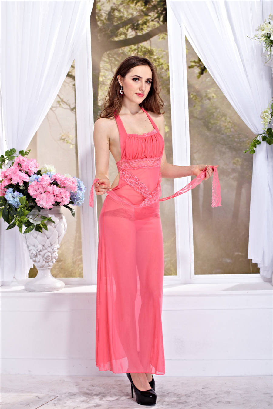 Yibiao más nuevo al por mayor del cordón de Medianoche Rosa Sexy ...