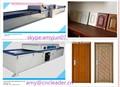 folheado de madeira de membrana de pvc imprensa da máquina para trabalhar madeira da porta do armário de cozinha preço