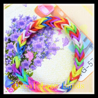 2014 Hottest crazy loom rubber bands & Rubber bands bracelet kit
