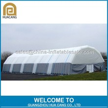 Commercial grade inflatable square tunnel tent, air building for commercial activity