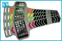 universal reflective sports sleeve for galaxy s6/s5/s4/iphone 6/iphone 5/armband case