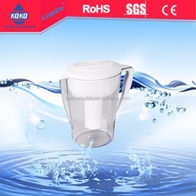 LFGB certificated plastic alkaline water jug water pitcher