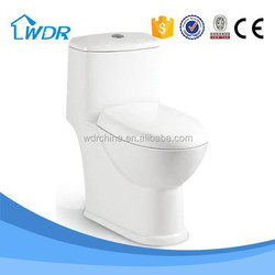 Sanitary ware Energy Saving solid surface one piece siphonic toilet prices
