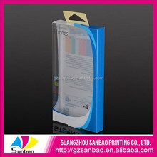 Clear PVC Packaging Box, clear vinyl boxes For Phone Case