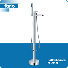 FARLO luxury free standing shower attachment for bathtub faucet