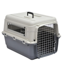 plastic pet carrier LPP-007M dog animal transport cage IATA approved