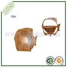 Fish Shape Bamboo Hanging Fruit Basket Ikea