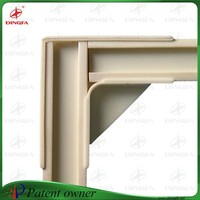 2015 new design green corner frame used to make window screen
