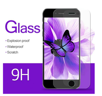 High quality For iPhone 4/4S/5/5S Tempered glass screen protector OEM / ODM retail package