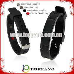 ionic silicone bracelet