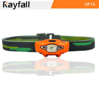 Lightweight waterproof led headlamp head lamp with red lights