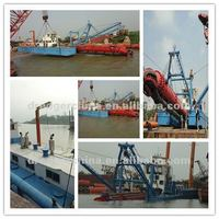 Wide used and hydraulic system mud dredger for sale