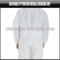 Disposable PP Painting Overalls / Working Suit, YFK407A